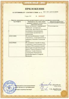 Сертификаты на КПБ